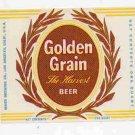 GOLDEN GRAIN The Harvest Beer Label 32oz.