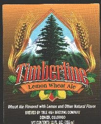 TIMBERLINE Lemon Wheat Ale /12oz