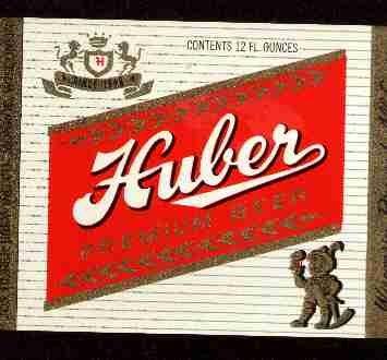 HUBER Premium Beer Label / 32oz
