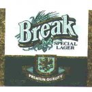 BREAK Special Lager /12oz.