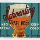 SCHOENLING Draft Beer Label /32oz