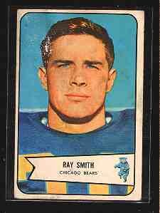 1954 Bowman F.B. RAY SMITH  CD# 119