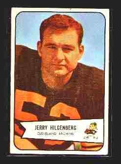 1954 Bowman F.B. JERRY HILGENBERG  cd#95