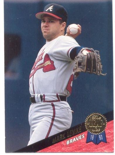 Mark Lemke Leaf # 68 Braves