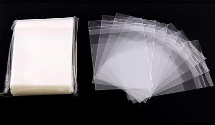 "100 OPP SELF ADHESIVE SEAL CLEAR PLASTIC BAG 4"" X 6"""