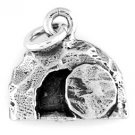 STERLING SILVER EMPTY TOMB of JESUS CHRISTIAN CHARM