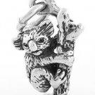 STERLING SILVER 3D KOALA BEAR CHARM/ PENDANT