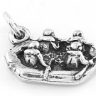 STERLING SILVER RAFTERS RAFTING CHARM/ PENDANT