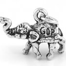STERLING SILVER POLITICAL PARTY REPUBLICAN GOP ELEPHANT CHARM