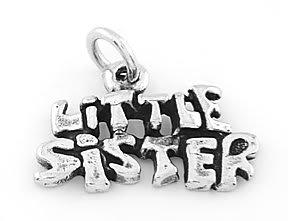 STERLING SILVER LITTLE SISTER CHARM/ PENDANT