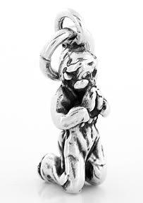 STERLING SILVER  BOY PRAYING CHARM/ PENDANT