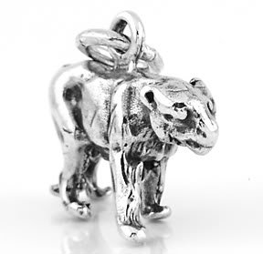 STERLING SILVER 3D PANTHER CHARM/PENDANT