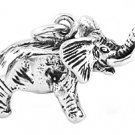 STERLING SILVER LUCKY ELEPHANT 3D CHARM