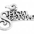 STERLING SILVER SPECIAL GRANDMA CHARM/ PENDANT