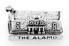 STERLING SILVER THE ALAMO CHARM/ PENDANT