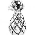 STERLING SILVER TROPICAL PLANT PINEAPPLE CHARM/PENDANT