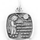 STERLING SILVER GUARDIAN ANGEL CHARM/PENDANT