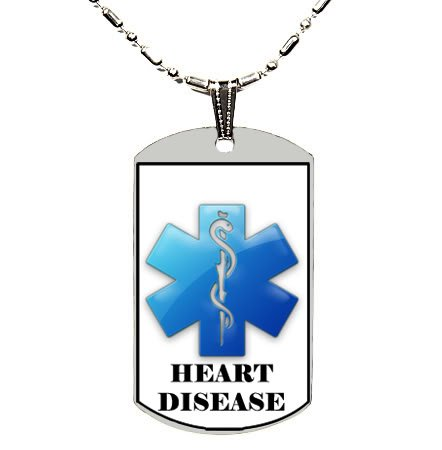 CUSTOM PERSONALIZED ENGRAVED MEDICAL ALERT ID DOG TAG