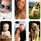 Personalized Photo iPhone 4 4s 5 Custom Picture on TPU Hard Case Cover