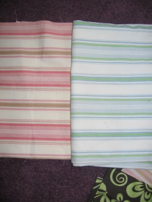 Fabric Choices # 6 and 7