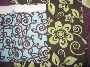 Fabric choices # 10 & 11