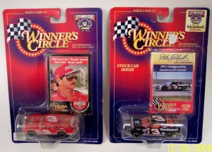 Dale Earnhardt 98 Coke and 93 Championship #3 Car 1/64 Scale