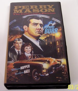 Perry Mason Collector's Edition: Stuttering Bishop & Purple Woman  (VHS Tape)