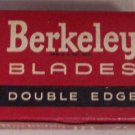 Berkeley Double Edge Safety Razor Blades NOS