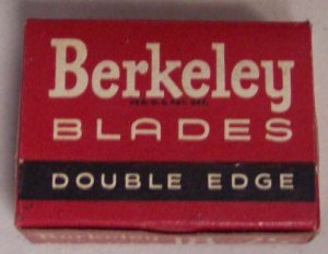 Berkeley Double Edge Safety Razor Blades NOS