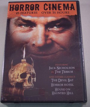 Horror Cinema 25 Features DVD Collection New Factory Sealed
