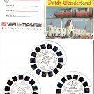 Gaf ViewMaster A 634 Dutch Wonderland Lancaster PA - 3 Reel Pack Stereo Pictures