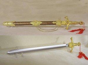 "Golden Ram 24"" Presentation Sword"