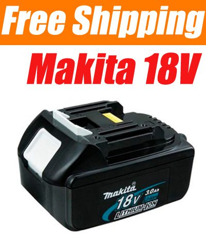 8 Pieces � Makita BL1830 18V 3.0 Ah 18Volt Li-Ion Battery Pack - USD 327.00 Free Shipping!