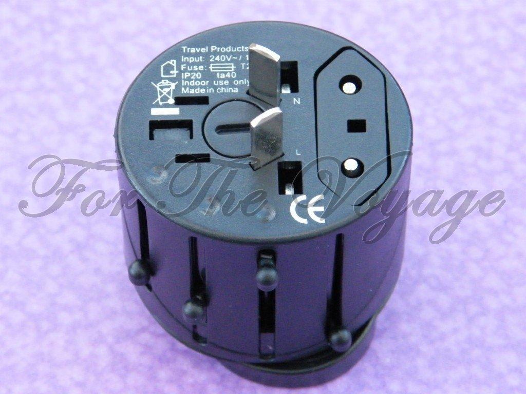 Travel Multi Plug Socket Adapter Converter Worldwide Universal NEW