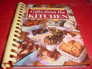 Favorite Brand Name Gifts From The Kitchen Cookbook