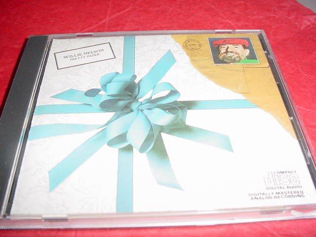 Willie Nelson Audio CD Pretty Paper Christmas Classics