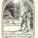 """Childe Rowland"", Vintage Print, English Fairy Tale Series"