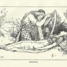 """Binnorie"", Vintage Print, English Fairy Tale Series"
