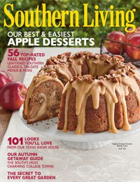 Southern Living Magazine, September 2011, Back Issue