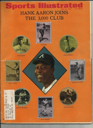 Sports Illustrated, May 25, 1970, Hank Aaron, Collector Issue