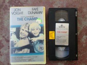 THE CHAMP (1979) Jon Voight, Faye Dunaway, Ricky Schroder; RARE VHS VIDEO