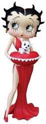 Betty Boop W/Puppy Figure