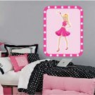 Kids girl princess wall art vinyl wall decal