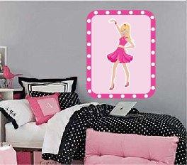 Kids girl princess wall art vinyl wall decal