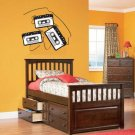 Old Cassette Tape Decal Decal set of 3 Removable vinyl wall decal can get any color and size