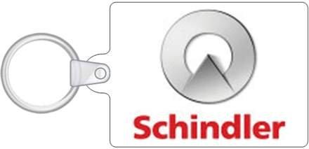 Schindler Elevator Key Chain
