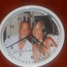 Couples photo clock