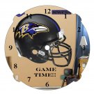 Ravens 1 Clock