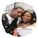 The photo wedding clock