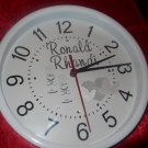 The decal wedding clock